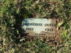 Catherine <i>Markel</i> Acker