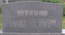 Frances E. <i>Dodson</i> Leet