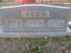 Herbert Brown Aden