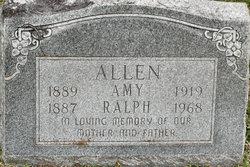 Amy Josephine <i>Nyberg</i> Allen