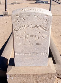 Martha Ann <i>Saline</i> Merrill