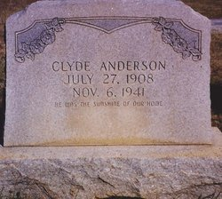 Clyde William Anderson
