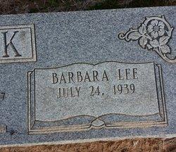Barbara Lee <i>Garey</i> Cook