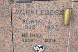Bethel Jayne <i>Crumbaker</i> Schneebeck