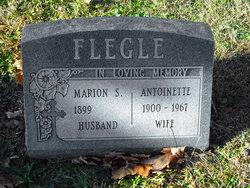 Antoinette A. <i>Miller</i> Flegle