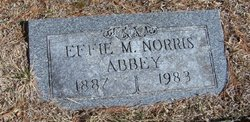 Effie May <i>Norris</i> Abbey