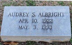 Audrey S Albright
