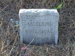 Katherine <i>Lewis</i> Whitenburg