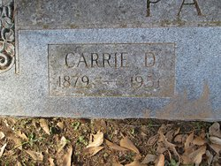 Carrie D Pate