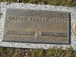 Oralee <i>Rumley</i> Atkins