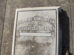 Lela Fay <i>Pendleton</i> Grant