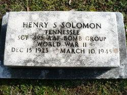 Henry Sylvain Solomon