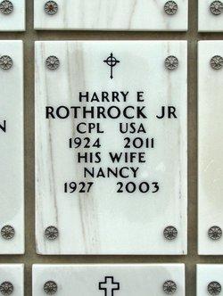 Harry Emmanuel Rocky Rothrock, Jr