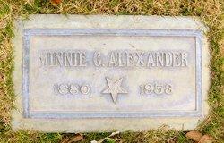 Minnie Gertrude <i>Wood</i> Alexander