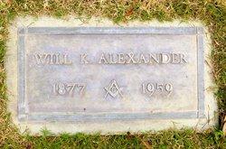 William Kyle Will Alexander