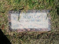 Mary <i>Scott</i> Carter