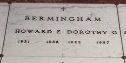 Howard E Bermingham, Sr