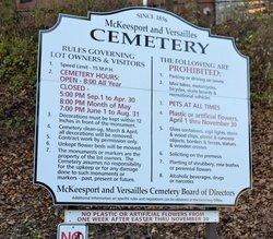 McKeesport and Versailles Cemetery