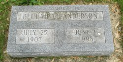 Beulah C Anderson