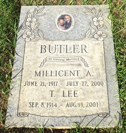 Millicent Angeline Mickey <i>Post</i> Butler