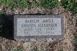 Marylin Janice <i>Knopfel</i> Alexander
