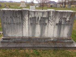 Annie B. <i>Purdy</i> Avritt