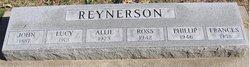 Lucy Ann <i>Creek</i> Reynerson