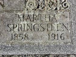 Martha <i>Springsteen</i> Saxton
