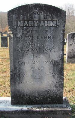 Mary Ann Lahr