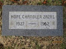Hope <i>Chandler</i> Zazas