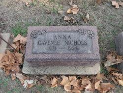 Anna Louise <i>Clutter</i> Cavenee Nichols