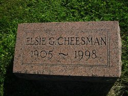 Elsie Grace Cheesman