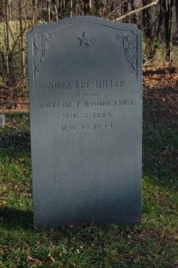 Nora Lee <i>Miller</i> Woodlands