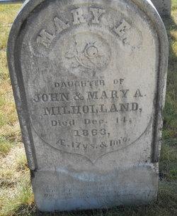 Mary E Milholland