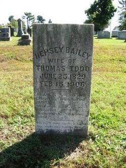 Hepsey Jane <i>Bailey</i> Todd