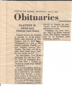 Clayton David Stovall