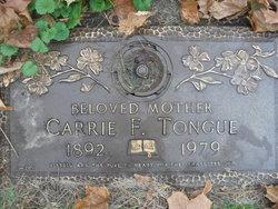 Carrie F <i>Burmeister</i> Tongue