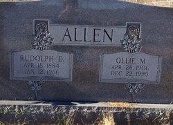 Ollie M. <i>Coffee</i> Allen