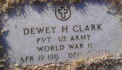 Dewey H Clark