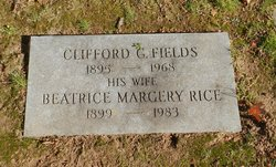 Beatrice Margery <i>Rice</i> Fields