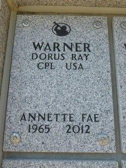 Annette Fae Warner