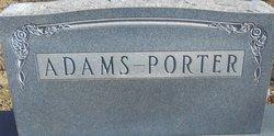 Madge Mitchell <i>Porter</i> Adams