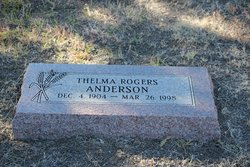 Thelma <i>Rogers</i> Anderson