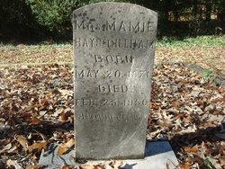 Mamie <i>Hays</i> Gillham