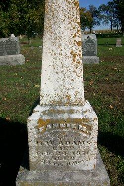 Fannie M. <i>Ray</i> Adams