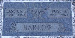 Cassius F Barlow