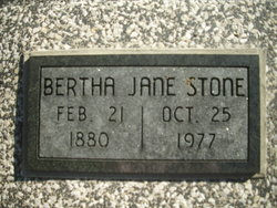 Bertha Jane <i>Hartley</i> Stone