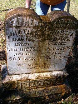 Mary Ann <i>Eggleston</i> Davis