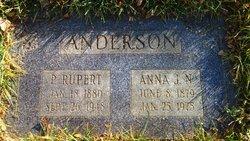 Anna Johanna <i>Nordblad</i> Anderson