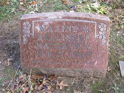 Maxine Marie Ballinger